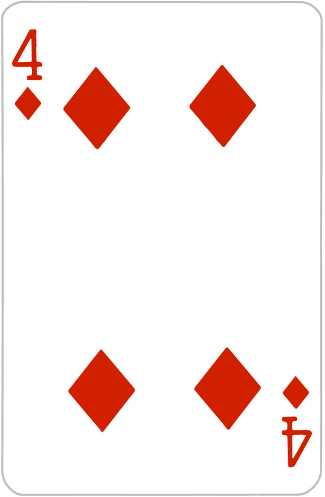 4 of Diamonds