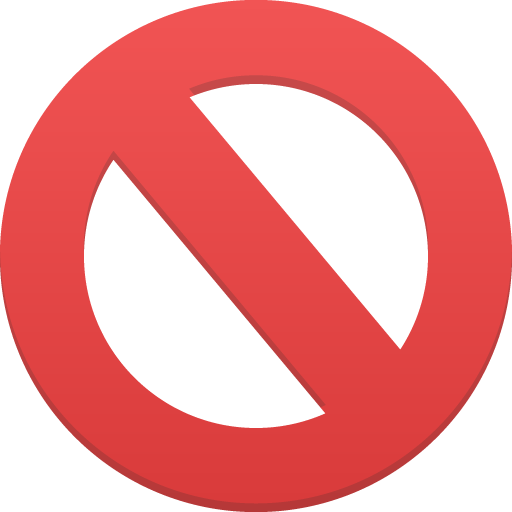 canceled emoji