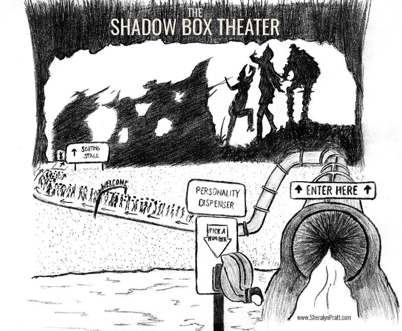 Shadow Box Theater Comic by Sheralyn Pratt